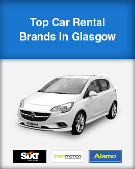 Top Car Rental Brands in Glasgow